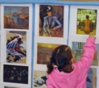 Reconociendo grandes pintores a los tres años