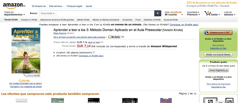 Amazon español mi pedido