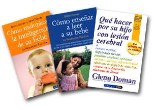 Algunos de los libros de Glenn Doman