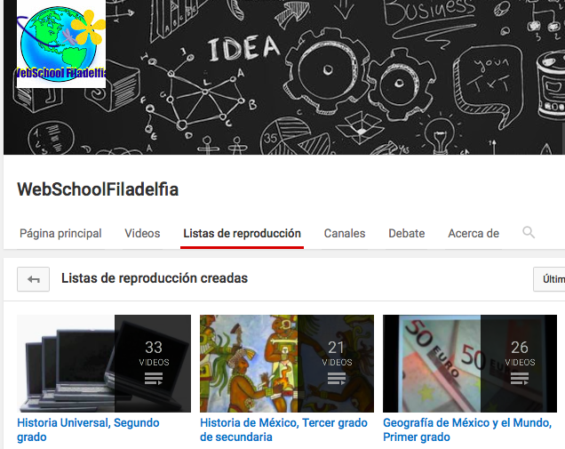 YouTube Webschool Filadelfia