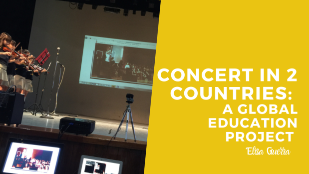 Global learning: Concert in 2 Countries